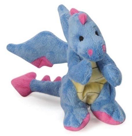 Periwinkle Dragon - Tough Chew Toy for Dogs