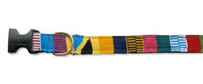 Handwoven Dog Collar -Traditional-Mullti design