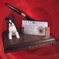 BostonTerrier Desk Set