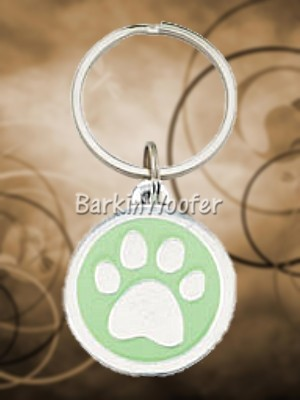 Pewter Paw Keychain for Dog Lovers