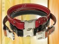 """Seneca"" Bridle Leather Dog Collars"