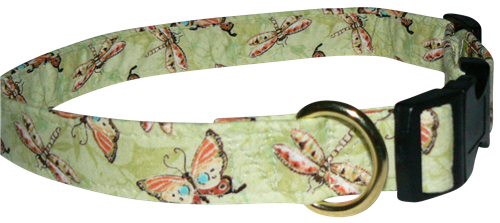 Butterfly Conservatory Collar   Collar, Leash, Harness   By Elmou0027s Closet