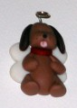 Pin - Someone to Watch Over You - Brown Dog Angel with Halo