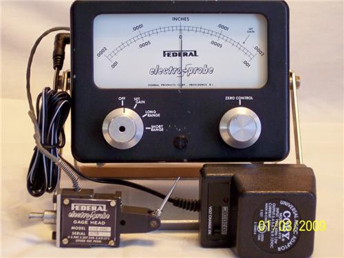 Electronic Federal Gage Products : Federal p amp with ehe gage head