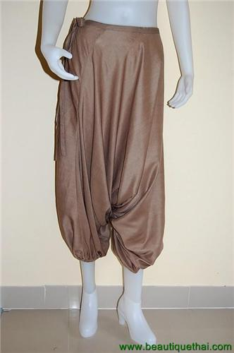 Tribe Pants Taupe Light Brown