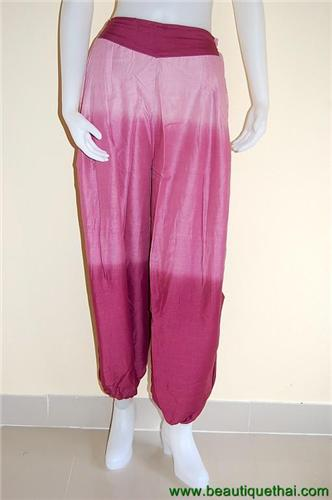 Aladdin Leisure Pants Red