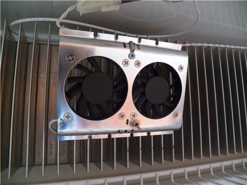 Evaporator Fan Greater inside Cooling Our Standard Model