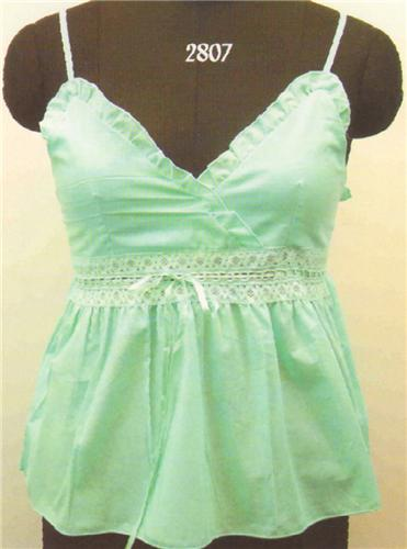 GEETA Hippie Clothes Bohemian Clothing Festival Gypsy Indian Lace Ribbon Cami Top 2807