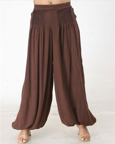 GEETA Hippie Clothes Bohemian Clothing Gypsy Indian Ethnic Retro Pleated Harem Pants 4257