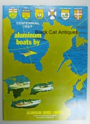 Original Vintage 1967 Springbok Aluminum Boats & Canoes Color Sales Booklet NOS