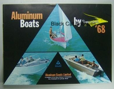 Original Vintage 1968 Springbok Aluminum Boats & Canoes Color Sales Booklet NOS