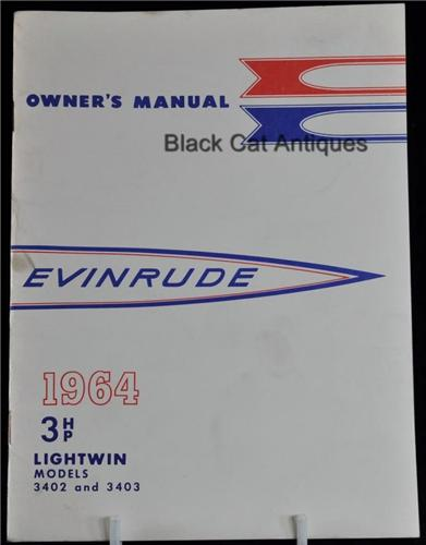 Evinrude Lightwin 4 hp manual