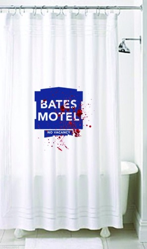 "Bates Motel 72x72"" Shower Curtain"