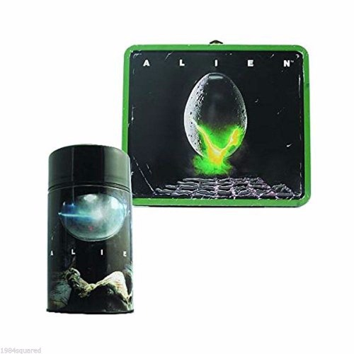 Alien Egg Distressed Lunch Box