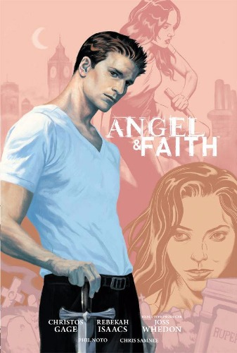 Angel and Faith Slayer Season 9 Deluxe Hardcover Volume 1