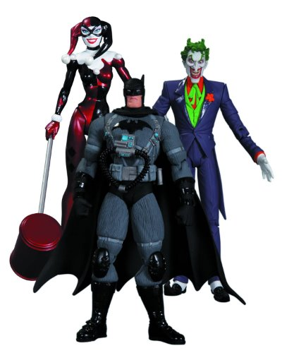 "Hush Joker Harley Quinn Stealth Batman 3-Pack 6"" Figure Set"