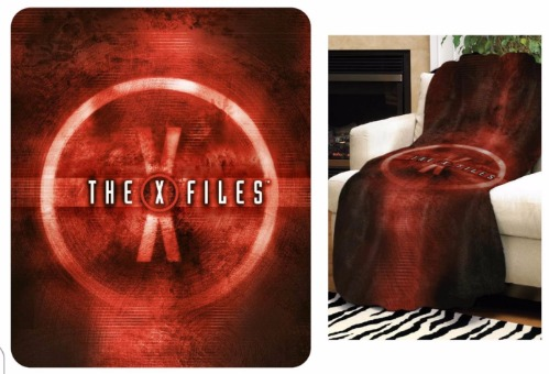 "X-Files Red Logo 50"" x 60"" Throw Blanket"