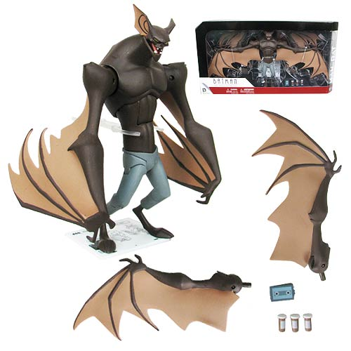 "Batman The Animated Series Man-Bat 7"" Deluxe Figure"