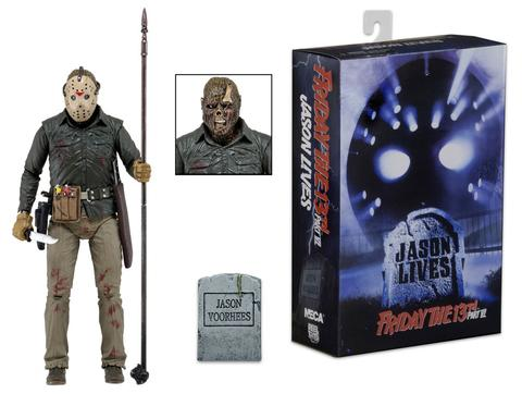 Friday The 13th Ultimate Part 6 Jason Action Figure