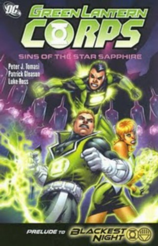 Green Lantern Sins of the Star Sapphire