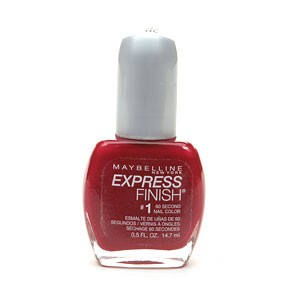 Maybelline Express Finish Nail Polish -Crimson 170