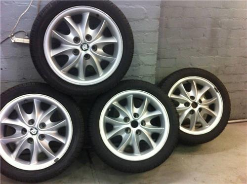 "SOLD - JAGUAR X308 SPORT 17"" wheel & tyres-Upgrade your V8 or replace your Metric tyres"