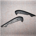 Jaguar Dash Top Sides, Rubber Pieces; Sold Per Pair - BD33772/3 Series 1/2