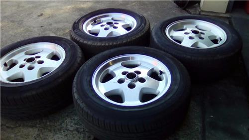 "JAGUAR X300/X308 16"" wheels & tyres-suit XJS or replace your XJ40 Metric tyres"