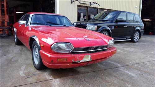 SOLD - JAGUAR XJS HE 1981 5.3 V12 Coupe  -Drives well, needs body & trim  *NO RESERVE**