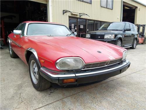 SOLD - JAGUAR XJS HE 1990 5.3 V12 Coupe  -Drives well - needs paint - Trim in good cond