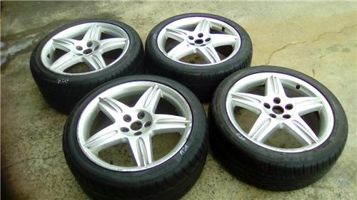 """JAGUAR S-TYPE R 18"""" wheels & tyres - Upgrade any S-type or X-Type - 5 x 108 PCD"""
