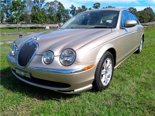 SOLD - JAGUAR S-Type 2003 V6 2.5 ltr Auto Sedan - 122103,kms GOOD COND - **NO RESERVE**
