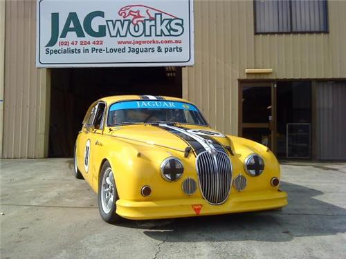 SOLD - JAGUAR 1961 Mk2 3.8 ltr Manual - CAMS Log Book RACE CAR