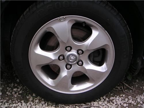 JAGUAR S - Type Mag Wheels & Tyres suit 1999 onwards