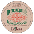 SIX OFFICIAL GUIDE OF RAILWAYS 1848, 1851, 1868, 1870, 1877 & 1888 on DVD