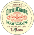 The Fourties - 5 Official Guides of Railways on DVD 1940, 1941, 1945,1946 &1948