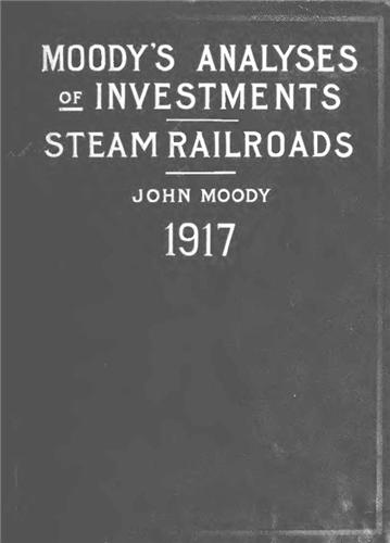 1917 Moody's Steam Railroads scanned to CD