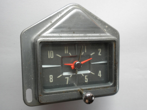 1959 Ford Clock - Dated AUG 58 - New Old Stock - also fits 1959 Edsel