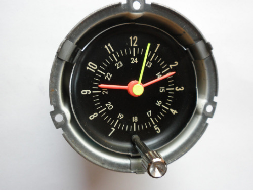 1966 Mustang Parts >> 1966 Ford Mustang Rally Pac Clock - Part Number C6ZZ-15000 - OMICRON CLOCK