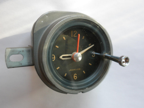 1963 Pontiac Clock Original Jewelled Movement Free