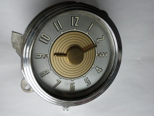 1948 Ford Clock Dated May 48 Will Also Fit 1942 1946