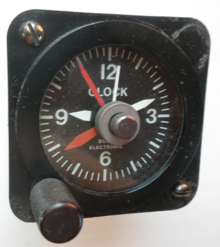 Aircraft 12 volt quartz clock 160423 (1)