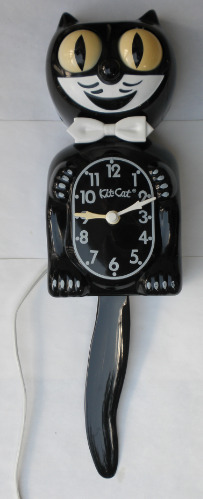Black Model D8 Kit Cat Klock Clock 2x86 (1)