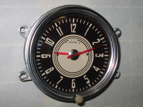 1947 1948 Chevrolet Clock Windup Type Will Also Fit