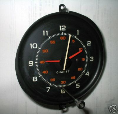 1980 Pontiac Grand Prix Clock - might also fit 1981 and-or Grand Am