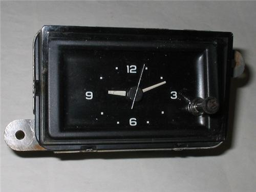 1977-1984 Oldsmobile Clock for 88 or 98 with NOS Borg Movement 1978 1979 1980 1981 1982 1983