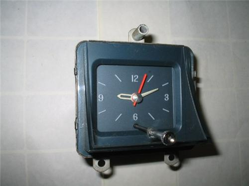 1967 Pontiac Clock for Bonneville, Catalina or Grand Prix