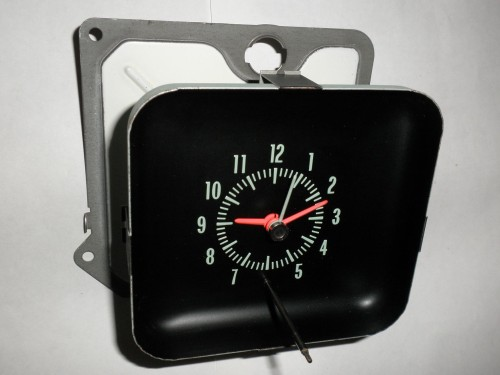1968 Chevrolet Bel Air Biscayne Caprice Or Impala Clock