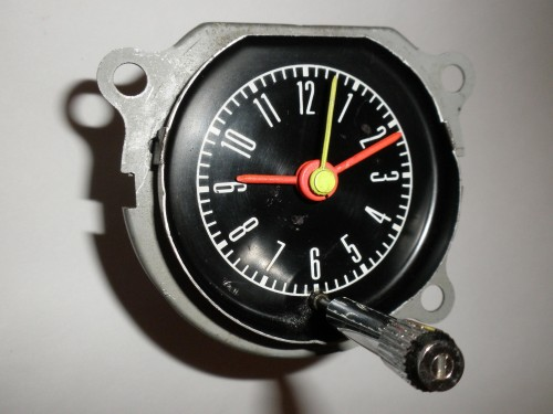 1967-1968 Ford Mustang Clock - Part Number C7ZF-15000 ...