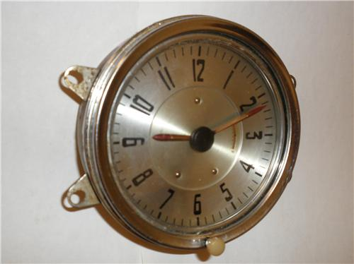 1941 Chevrolet Clock Windup Type Will Also Fit 1942